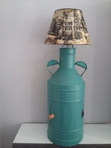 upcycling-lampe